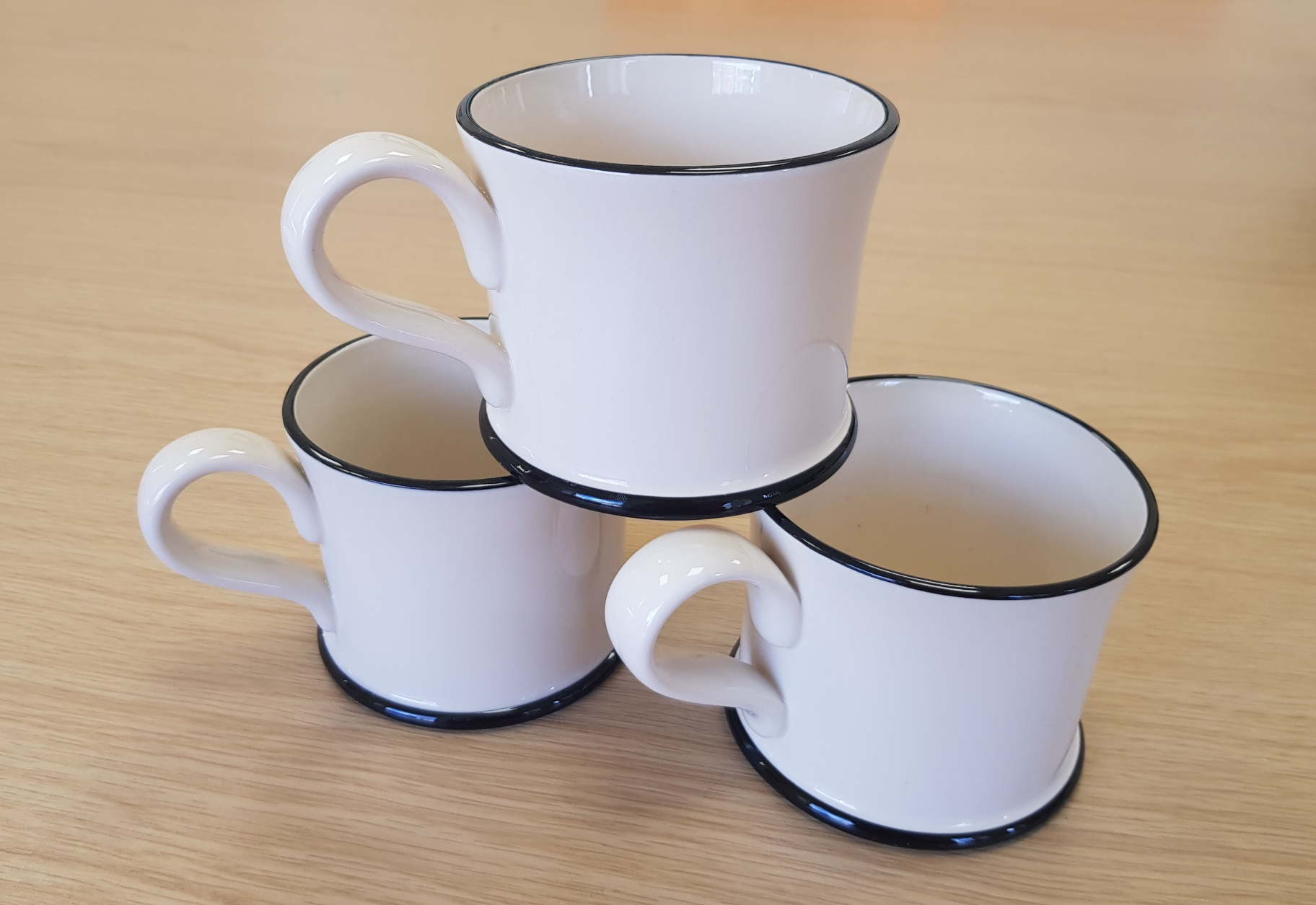 Moorland Pottery Donation Mugs Coffee Afternoon